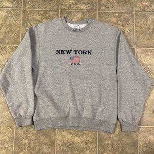 New York USA crewneck